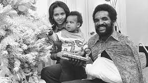 Grant Hill with his parents