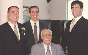 Mark Cuban with his father & brother