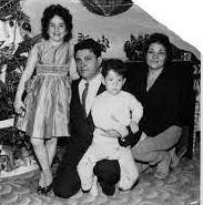 Sonia Sotomayor with her family