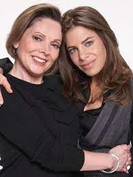 Jillian Michaels with her mother