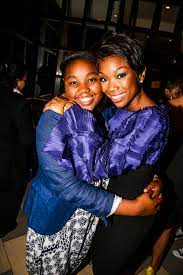 Brandy Norwood with her daughter