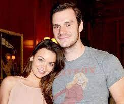 Cooper Hefner with his wife