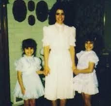 Jennifer Walcott with her mother & sister