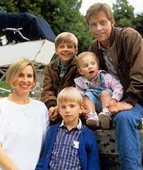 Mark Hamill with his children