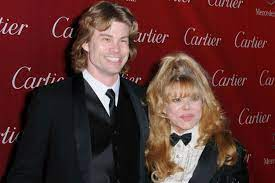 Charo with her son