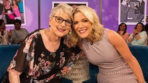Megyn Kelly with her mother
