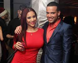 Cyn Santana with her brother