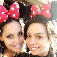 Trish Stratus with her sister