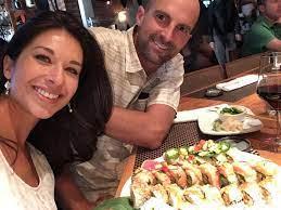 Ana Cabrera with her husband