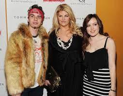 Kirstie Alley with her children