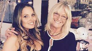 Trish Stratus with her mother