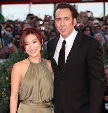 Nicolas Cage with his ex-wife Alice