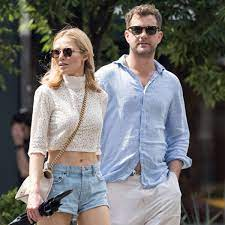 Joshua Jackson with his ex-girlfriend Alyssa