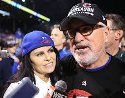 Joe Maddon with his ex-wife Betty