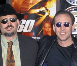 Nicolas Cage with his brother Christopher