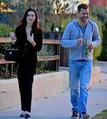 Joshua Jackson with his ex-girlfriend Crystal