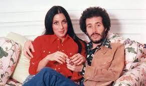 Cher with her ex-boyfriend David