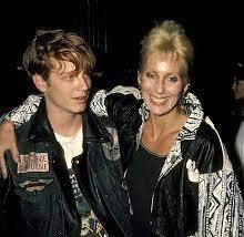 Cher with her ex-boyfriend Eric