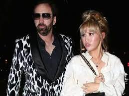 Nicolas Cage with his ex-wife Erika