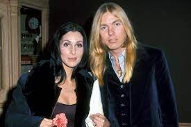 Cher with her ex-husband Gregg