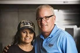 Joe Maddon with his wife Jaye