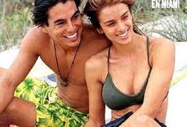 Yvette Prieto with her ex-boyfriend Julio