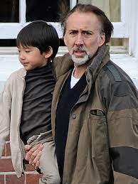 Nicolas Cage with his son Kal-El