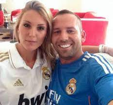 Sergio Garcia with his ex-girlfriend Katharina