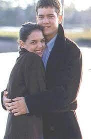 Joshua Jackson with his ex-girlfriend Katie