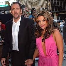 Nicolas Cage with his ex-wife Lisa
