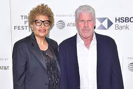 Ron Perlman with his ex-wife Opal
