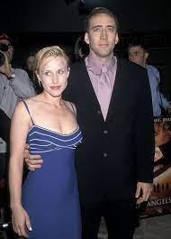 Nicolas Cage with his ex-wife Patricia