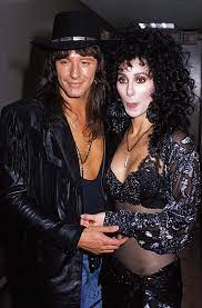 Cher with her ex-boyfriend Richie
