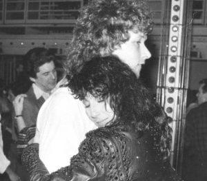 Cher with her ex-boyfriend Ron