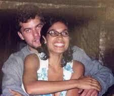 Joshua Jackson with his ex-girlfriend Rosario