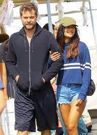 Joshua Jackson with his ex-girlfriend Shafia