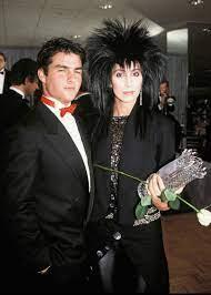 Cher with her ex-boyfriend Tom