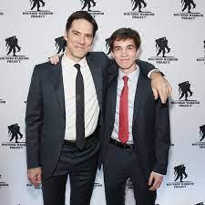 Thomas Gibson with his son Travis
