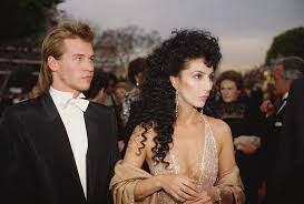Cher with her ex-boyfriend Val