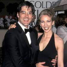 Thomas Gibson with his ex-wife