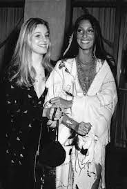 Cher with her sister