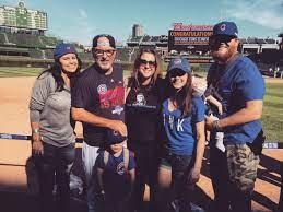 Joe Maddon with his family